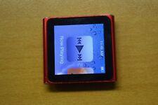 Apple Ipod Nano 6th Generación (PRODUCTO) ROJO (8GB) - se vende con defecto de menor importancia