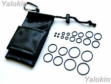 Storage Pouch and O-Rings for Vapes,RDA,RBA,Drip Tips, APVs and Mods (BCF-24OR)