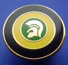 Skinhead Trojan Target Jamaica Enamel Pin Badge - Yellow, Green & Black