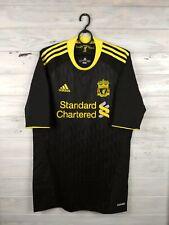 Liverpool jersey Techfit 2010 2011 3rd Player Issue XL Shirt Black Men Adidas