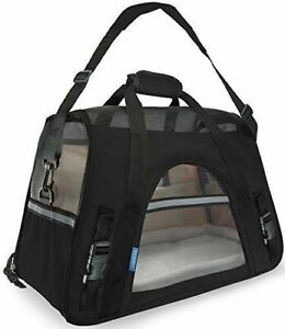 OxGord Soft Sided Airline Approved Travel Pet Carrier - Large - Black NWT
