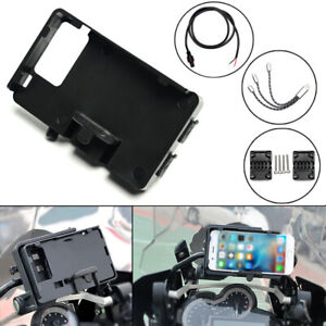 Navigation GPS Phone Mount Holder USB Charger For BMW R1250GS F1200GS LC/ADV MU