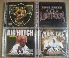 "24  RAP CD'S - 6 EA. OF - MARC ""LIVE"", BIG HUTCH, KOOL KEITH & SPICE 1- NEW"