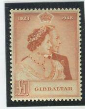Gibraltar Stamps Scott #122 MINT,NH,VF (X3992N)