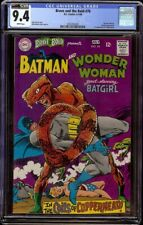 Brave & Bold # 78 CGC 9.4 White (DC, 1968) Wonder Woman and Batgirl appear