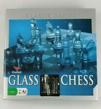 Glass Chess Set With Glass Playing Board Cardinal Games