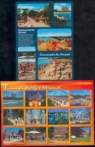 Lot mit 5 Postkarten Timmerndorfer Strand (6) neuwertig