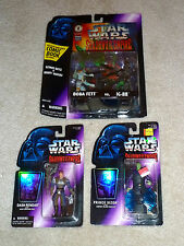 Star Wars:3 SOTE Figures: 2 Pack:BOBA FETT vs IG-88 + DASH RENDAR + Prince Xizor