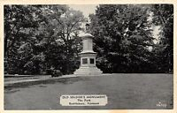 Brattleboro VT Civil War Soldiers Monument Honors 21 Soldiers Who Died 1940s B&W