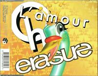 "ERASURE - 5"" CD - Oh L'Amour (August Mix) + 2  UK"