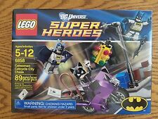 Lego 6858 Catwoman Catcycle City Chase Batman DC Super Heroes MISB New Sealed