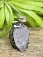 Elite Shungite Pendant Natural Shungite Stone Specimen Gemstone Crystal Karelia.