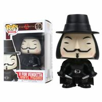 New 4 inch Movies V for Vendetta 10cm Vinyl Action Figure Collectible Toys Gifts