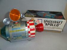 Vintage Spacecraft Space Capsule Apollo Battery Operated Alps Japan 1960 in Box