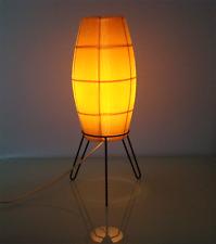 50er Rocket Cocoon Trépied de table-lampe table LAMP MID CENTURY by RISPAL 1950´s