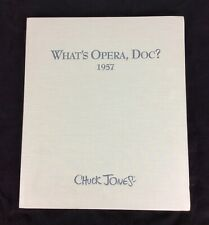 What's Opera Doc ? 1957 limited edition Giclee prints Chuck Jones Noble 1997