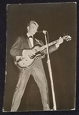 1960's - JOHNNY HALLYDAY - REAL PHOTO - POSTCARD - ORIGINAL