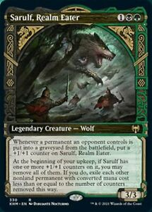Sarulf, Realm Eater (Showcase) Kaldheim Magic The Gathering