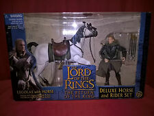 THE LORD OF THE RINGS LEGOLAS WITH HORSE DELUXE HORSE AND RIDER SET TOY BIZ 2003