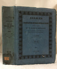 ANNALES L'OBSERVATOIRE PHYSIQUE CENTRAL DE RUSSIE Kupffer 1856 astronomy, Russia