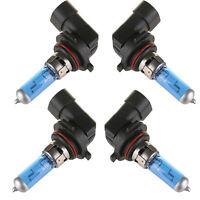 4PCS 9006/HB4 6000K Xenon Gas Halogen Headlight Super White Light Bulbs 100W 12V
