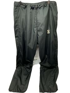 VINTAGE Pearl Izumi Clima Guard Men's Cycle Pants XL Black Joggers TRANS GLOBE