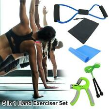5 in 1 Hand Exerciser Set Training Device Hand Grip Muscle Trainer for Fitness