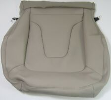 GENUINE AUDI A5 SPORTBACK RIGHT FRONT LINEN MILANO LEATHER BEIGE SEAT BASE COVER