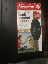 "Sunbeam Bark Control Dog Collar Adjustable 6""- 28"""