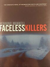 FACELESS KILLERS BY HENNING MANKELL *FIRST ED*SIGNED*