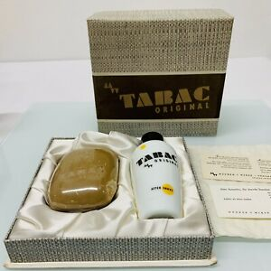 Vintage Tabac Original Geschenkset After Shave + Seife unbenutzt