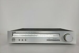 Rare Vintage Yamaha Natural Sound T-550 Am/Fm Tuner Dc-nfb Pll Mpx Works