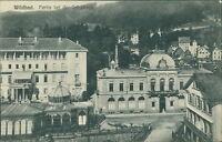 Ansichtskarte Wildbad Partie bei der Trinkhalle 1918  (Nr.9326)
