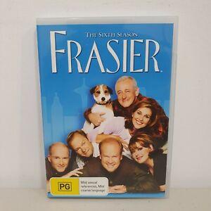 Frasier : Season 6 DVD Region 4, Sixth Season, Free Postage