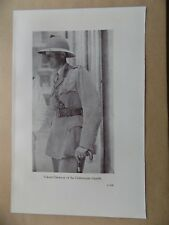 Lawrence of Arabia Book Page, 2 Sides, Colonel Dawnay & Commander Hogarth