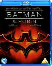Batman & Robin (Blu-ray Disc, 2009, UK Pressing) - Region Free