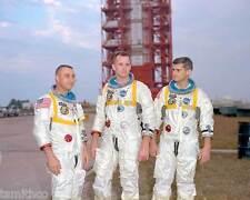 Apollo 1 Astronauts Gus Grissom Ed White Roger Chafee 8x10 Photo