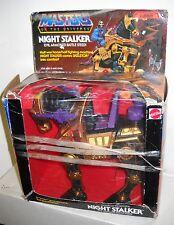 #3857 NIB Vintage Mattel MOTU Night Stalker Evil Armored Battle Steed (BAD BOX)