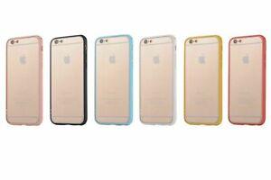 Ultra Thin Soft Gel Bumper Transparent Back Case Cover iPhone 7 Plus XR XS Max
