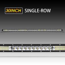 "LED Light Bar 32Inch 1248W Slim Spot Flood Offroad 4WD Driving Lamp PK 33""34""35'"
