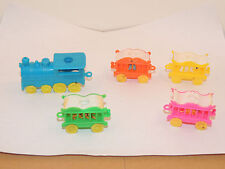 Candle Holder Train with Animal Cars set of 5 (12031)