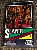 Slayer – Reign In Blood. VG Cassette Tape Plays Perfectly TACT/TAKT
