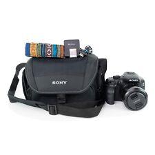 Sony Alpha a3000 20.1MP Digital Camera + Sony 18-55mm Lens Bag Charger SD Card