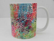 Society6 LA Los Angeles City Sattelite Map, Coffee Tea Cup Mug 8 Oz EUC