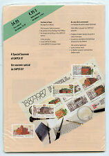 Weeda Canada Thematic Collection #36, 1987 CAPEX 87 Heart of Town folder CV $10
