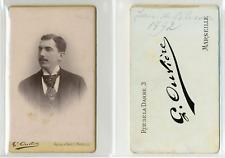 Oulière, Marseille, Jean de Blessin Vintage CDV albumen carte de visite CDV,