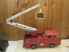 Vintage steel metal 1970's TONKA Snorkel Firetruck  For Parts or Repair B1809