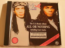 CD Milli Vanilli all or nothing Musik
