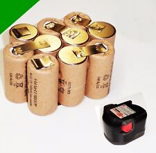 Replacement Battery Cells for Original WÜRTH 12 V SD12. M.2 Ah NiCd HP-2000