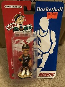 Rare Forever Collectibles IVERSON Mini Bobs Bobblehead Magnet ~ Vintage